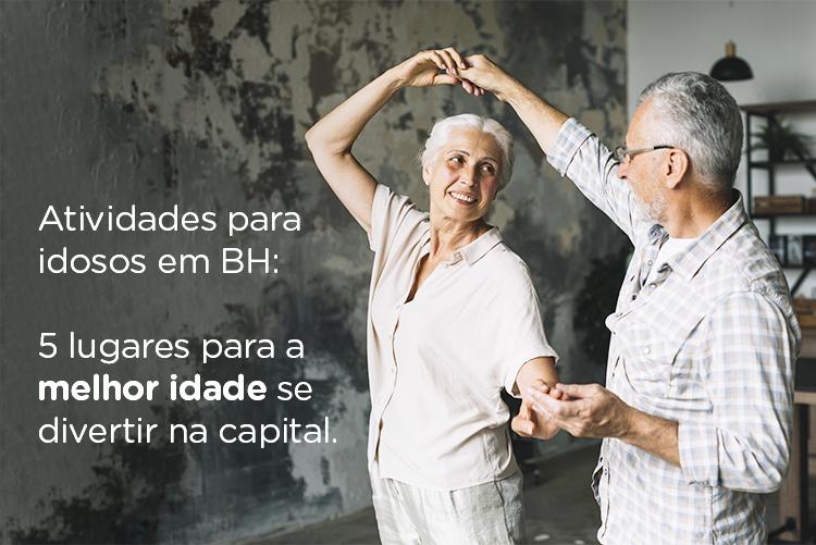Atividades para idosos em BH: 5 lugares imperdíveis na capital