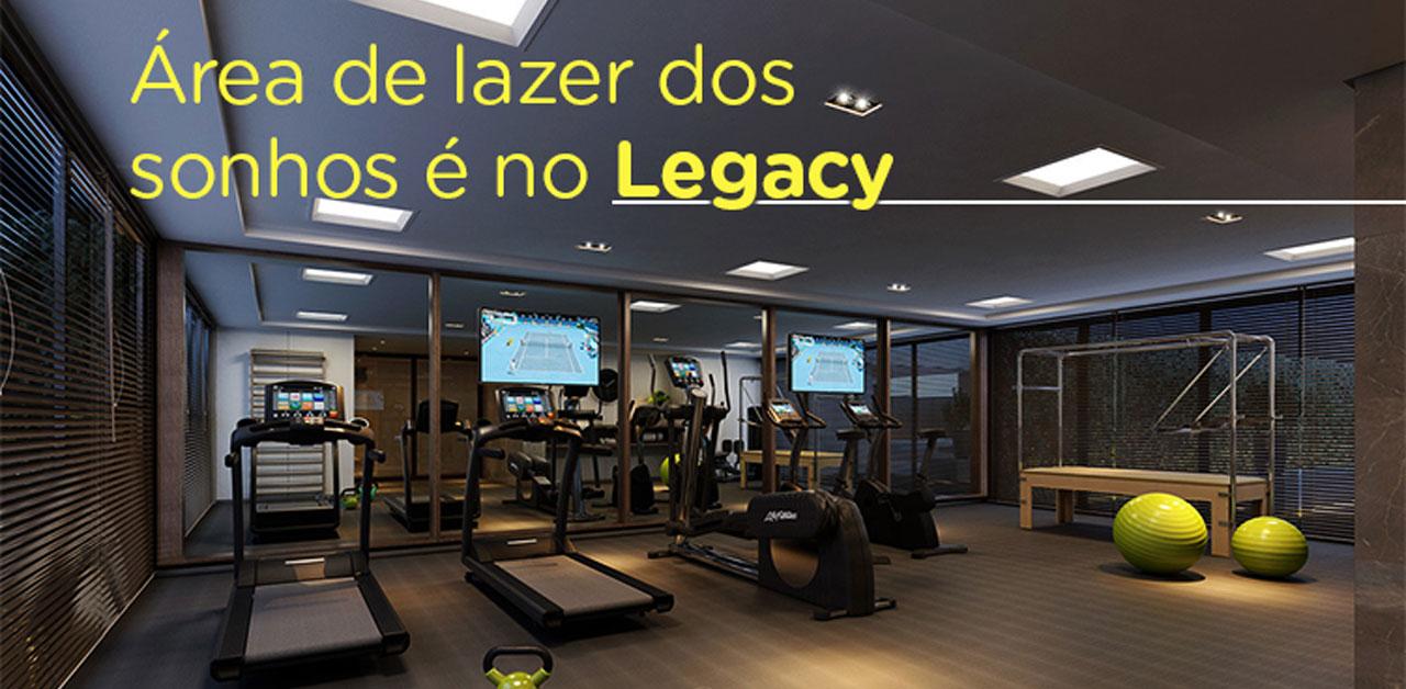 área de lazer Legacy BH